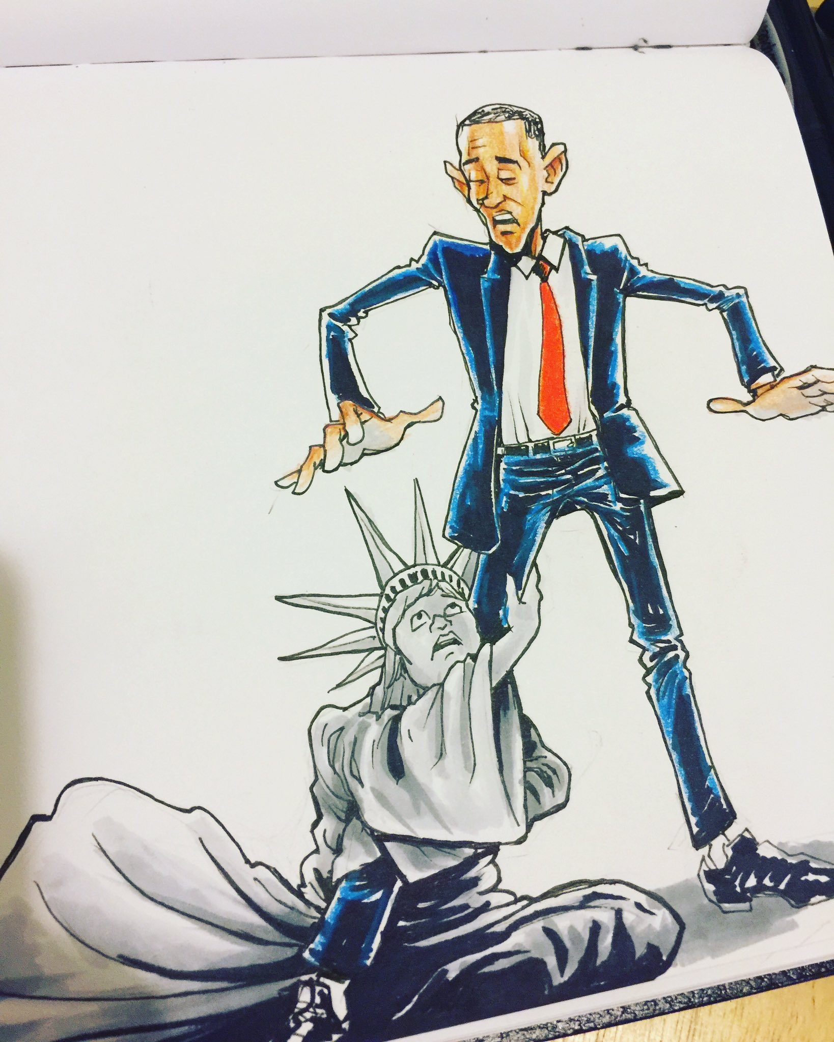 Mood. #ObamaFarewell https://t.co/ycNsGbnk3R