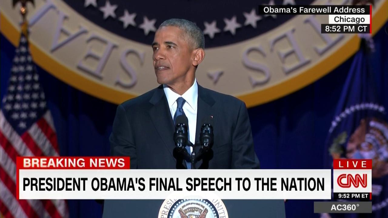 #ObamaFarewell: 'Yes we can. Yes we did' https://t.co/xrT9gdTzJ3 https://t.co/OqdfuKjPvZ
