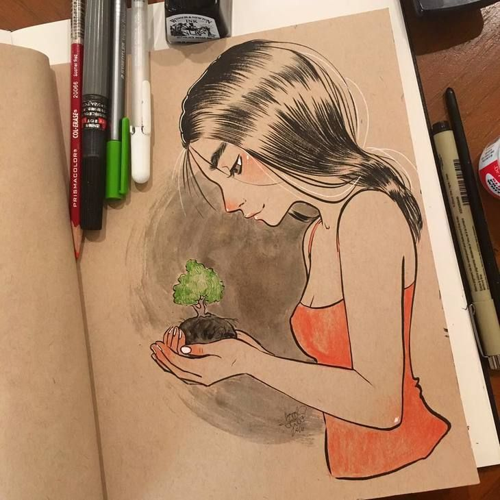 RT @hitRECord: A glimpse inside ScarletAdrianne's notebook —https://t.co/zpwF4DfxKt https://t.co/w1aYQtoFvj
