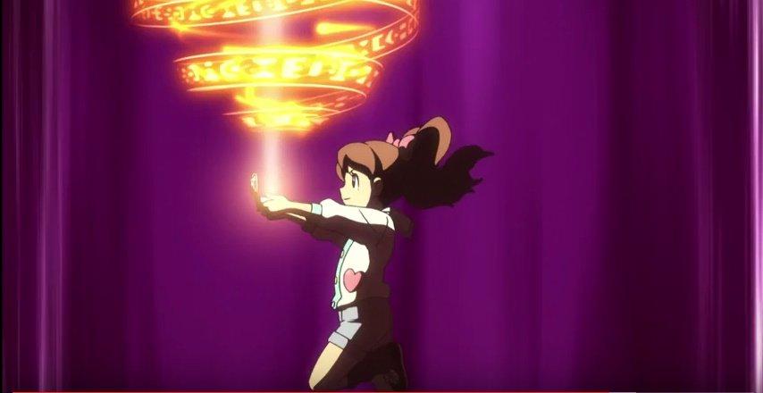 フミちゃん妖怪召喚シーン 9。ここも無印とはちょっと違いますがフミちゃんらしさはよく出てると思い。 #ご主人様はフミちゃ