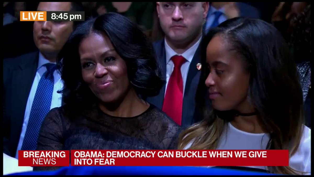 Michelle LaVaughn Robinson Obama of the south side of Chicago, first of her name, the mother of dragons etc etc https://t.co/gf0bzKF48U