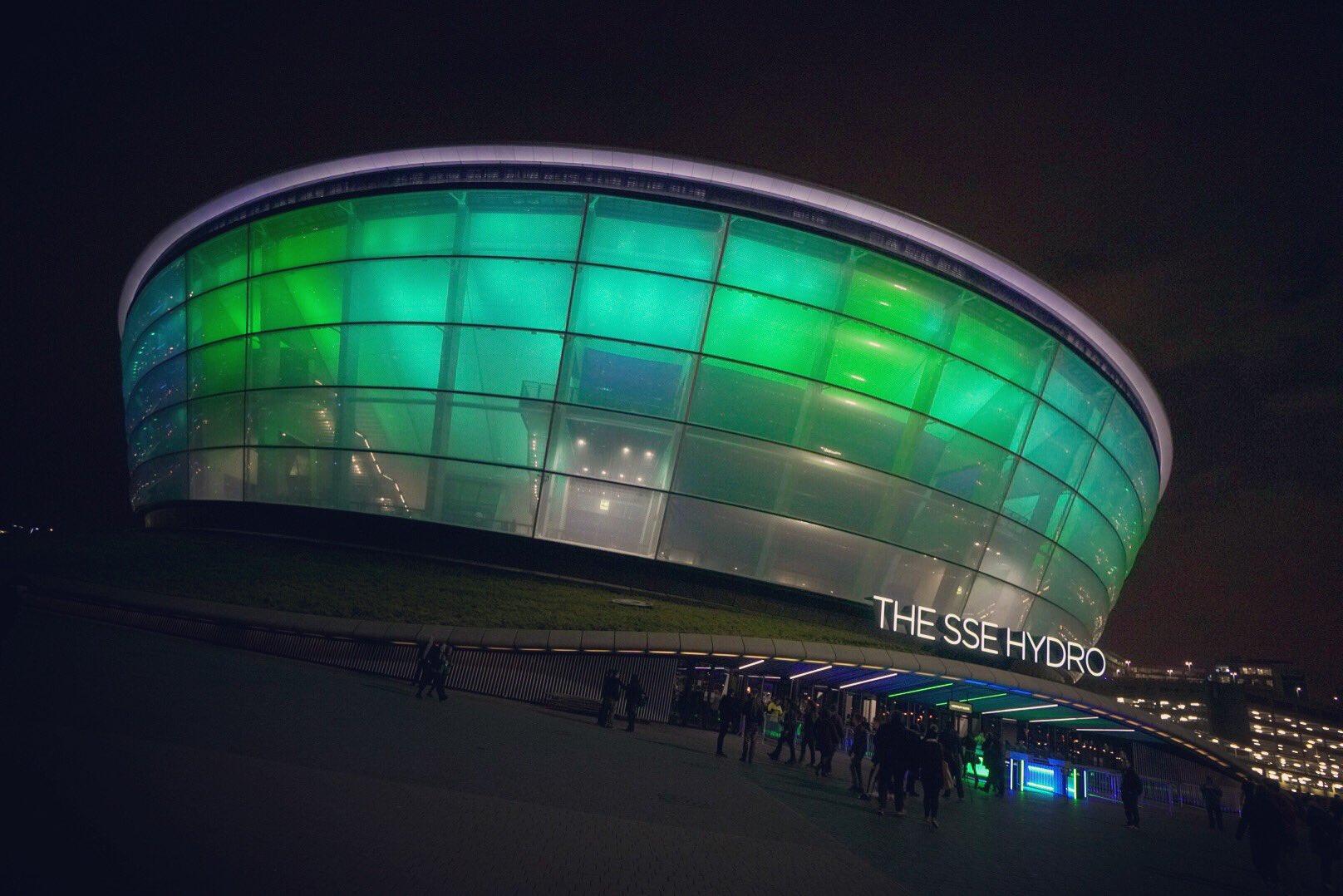 #thestageworldtour The SSE Hydro.  Glasgow, Scotland - SOLD OUT! ��: @rafacore https://t.co/r1rw6LoJkj