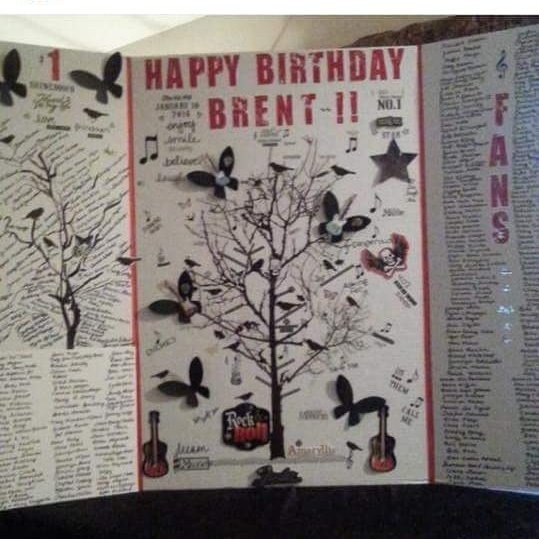 Happy Birthday to Brent Smith!!!