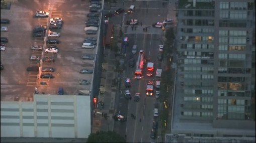 DTLA UPDATE  LAPD says officer lapd