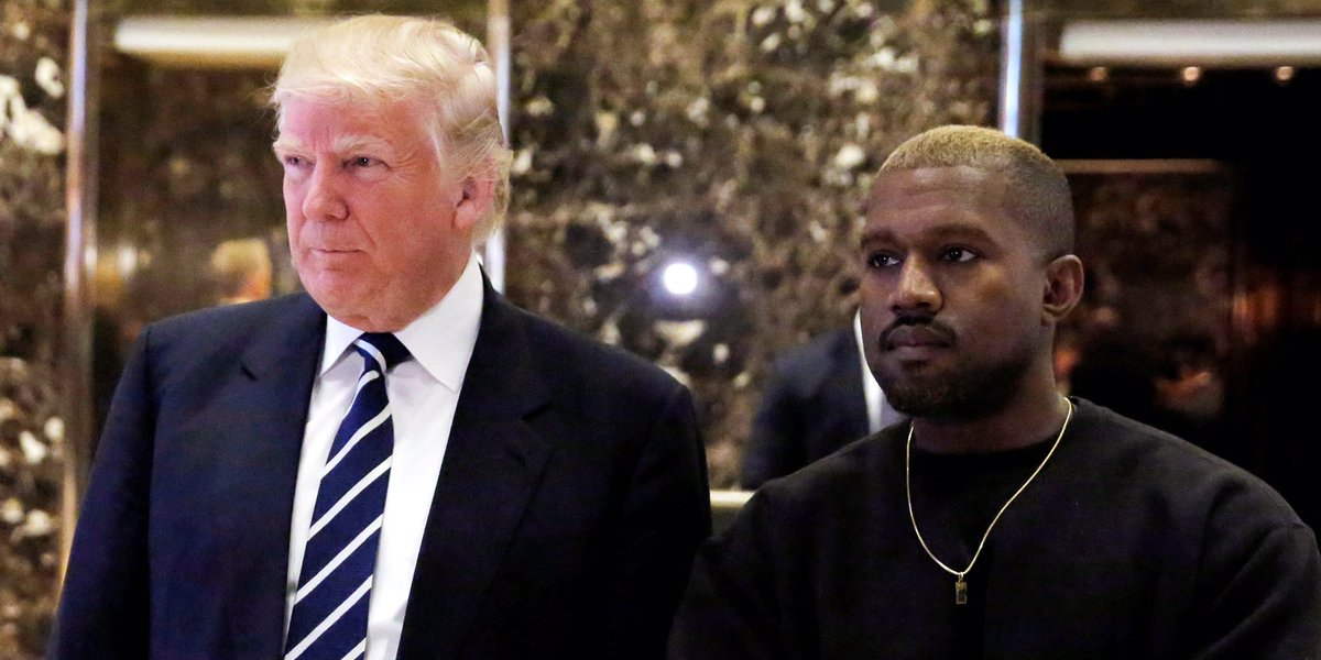 Kanye's new hair makes a lot more sense now #GoldenShowers