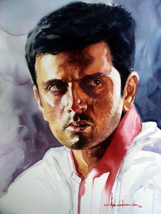Happy Birthday \The Wall\ Selfless \Rahul Dravid\