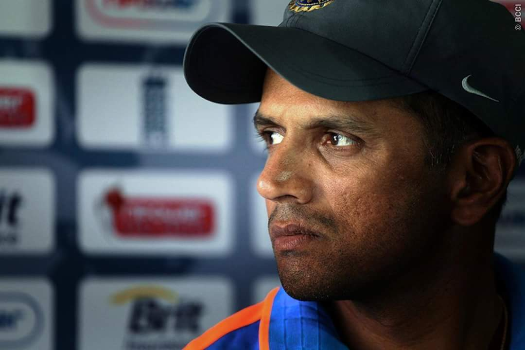 Here\s wishing a very happy birthday to former skipper Rahul Dravid