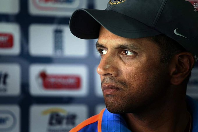 Here\s wishing a very happy birthday to former skipper Rahul Dravid