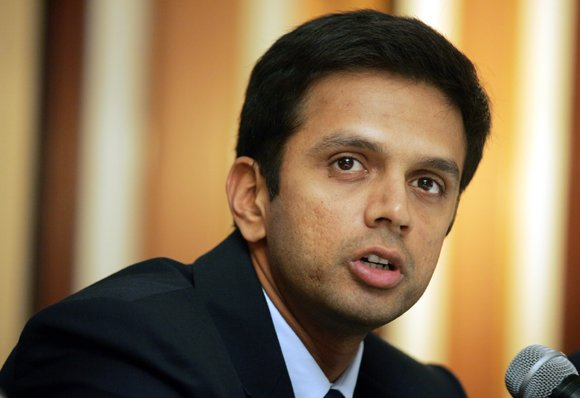 Happy birthday to Rahul Dravid. Wish him a happy & long life.