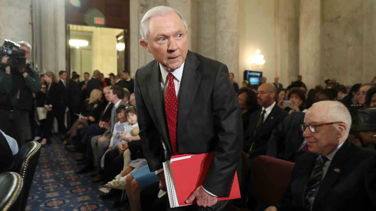Jeff Sessions was asked about Russian hacking. His response was stunning.