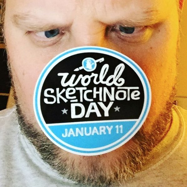 I'm getting ready for #SNDay2017 & I've got something wicked planned! Hint: It's a live #sketchnote session! Topic: … you'll have to wait! 🤓 https://t.co/ap7YaY5Zyr