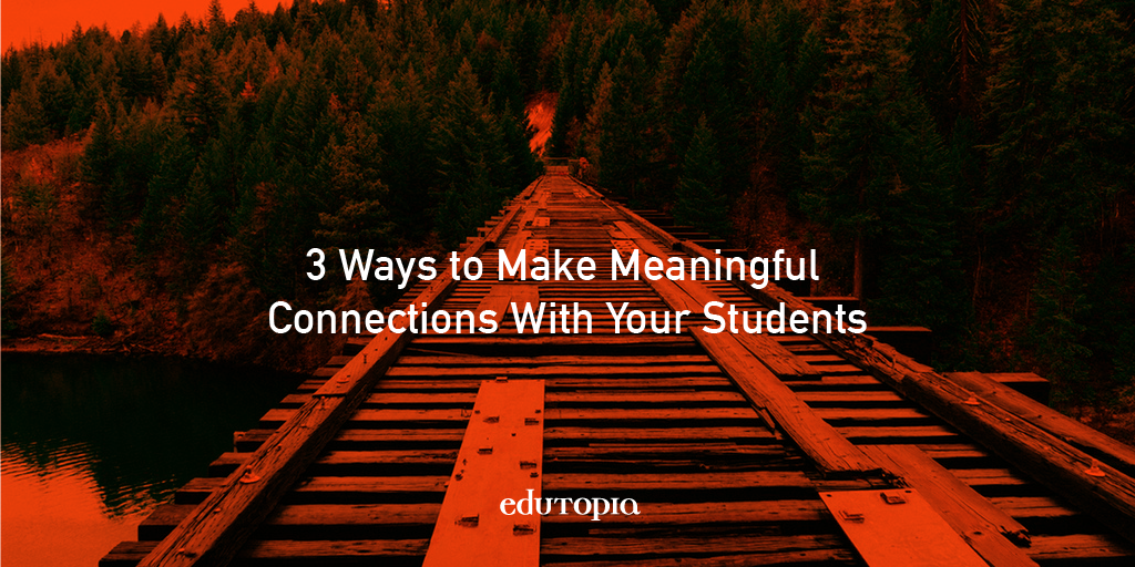 Tips to build relationships with students in the first 5 minutes of class: https://t.co/p5S8OufT1j. https://t.co/DBupbuWtS7