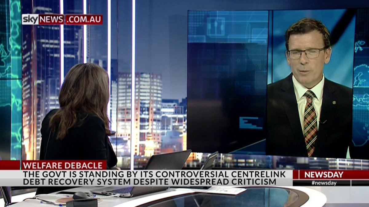 Alan Tudge says Centrelink cases that didn't require debt repayment wasn't an error but part of the system design!  https://t.co/HVnGA59YoI