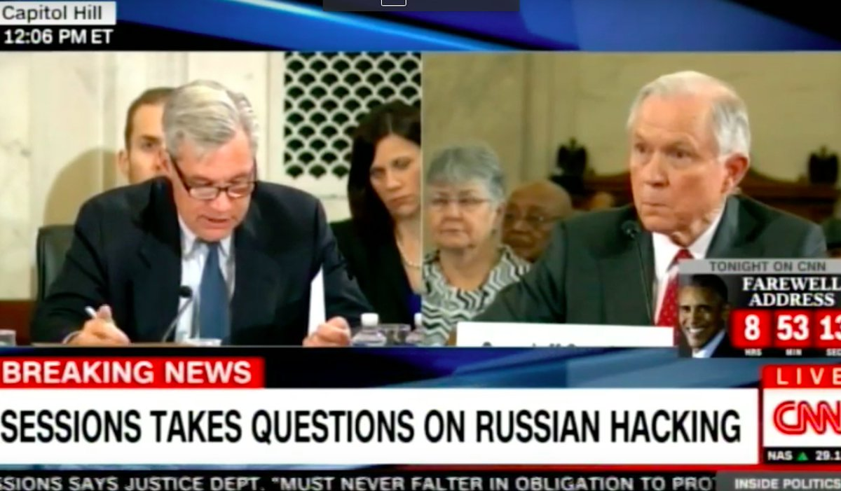 Jeff Sessions refused to answer one of the biggest questions in his confirmation hearing