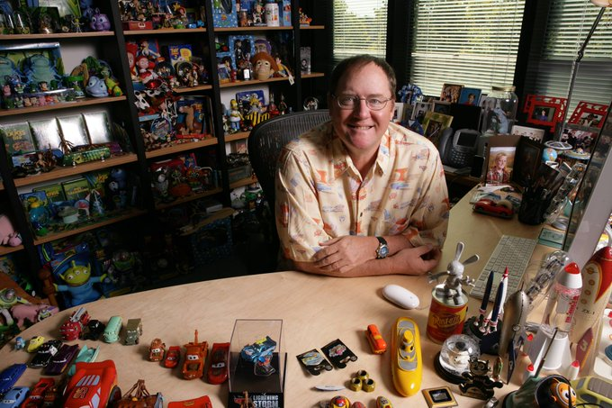 Join us in wishing director and Pixar animator John Lasseter a very happy birthday!