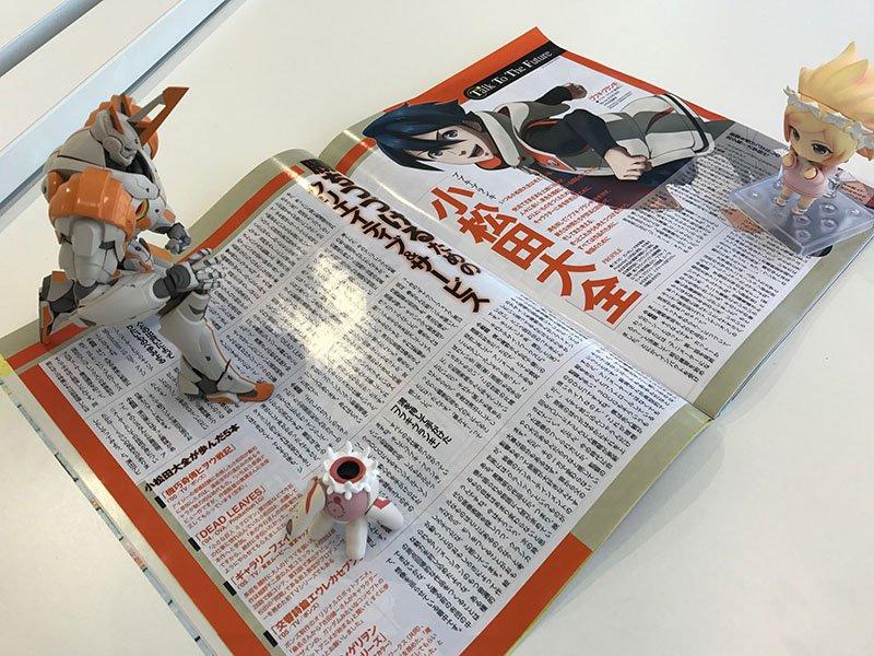 1月10日発売のニュータイプ2017年2月号に、小松田監督のインタビューが掲載されているレフ!アニメ業界に触れたきっかけ