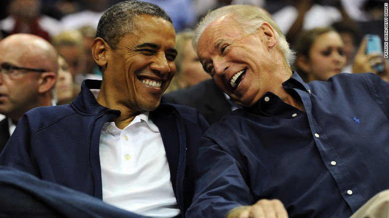 "President Obama tells VP Joe Biden: ""I gained a brother."""