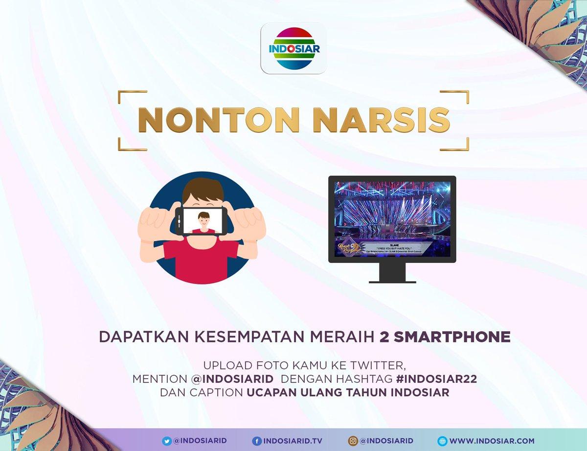 RT @IndosiarID: mau dapat 2 smarphone dari Indosiar? yuk ikutan kuis #Indosiar22 https://t.co/oBu71Ceo3N