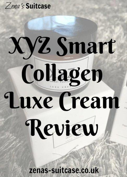 XYZ Smart Collagen Luxe Cream Review + #Giveaway