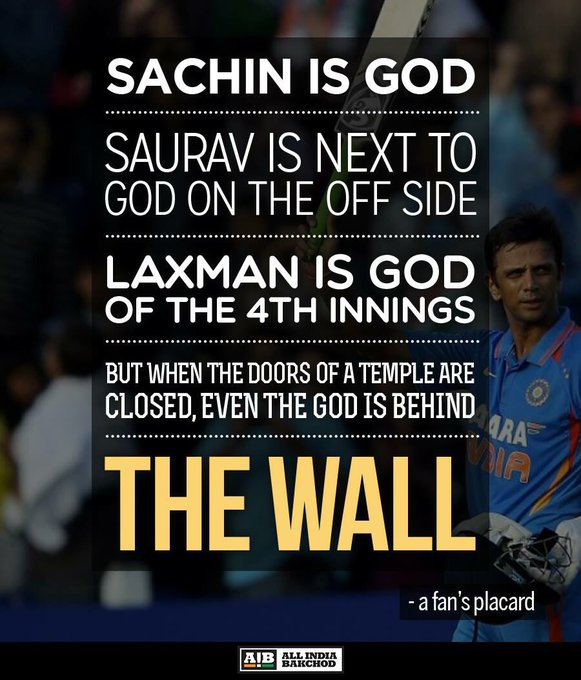 Happy birthday Rahul Dravid!