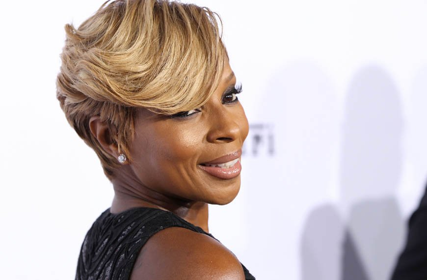 Happy birthday to you and singer Mary J Blige, she turns 46 years today