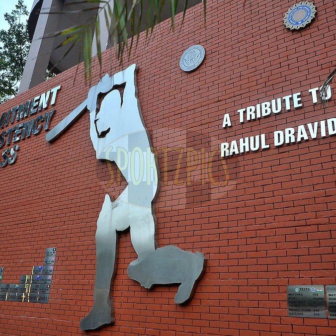 Happy birthday wall # rahul dravid