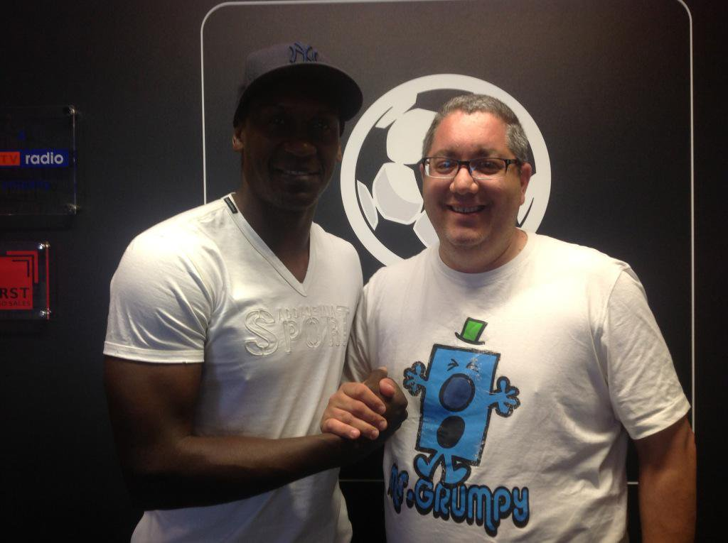 Happy 41st Birthday to Emile Heskey, have a great day my friend