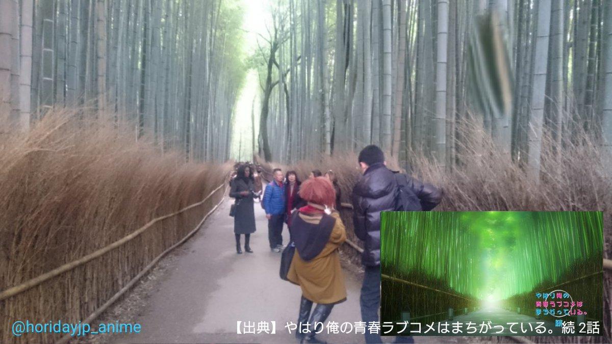 嵐山の竹林行った!(Part.2)俺ガイルと比較! #俺ガイル