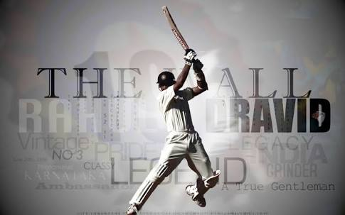 Happy birthday to one of my favourite cricketers of all time - Rahul Dravid.
