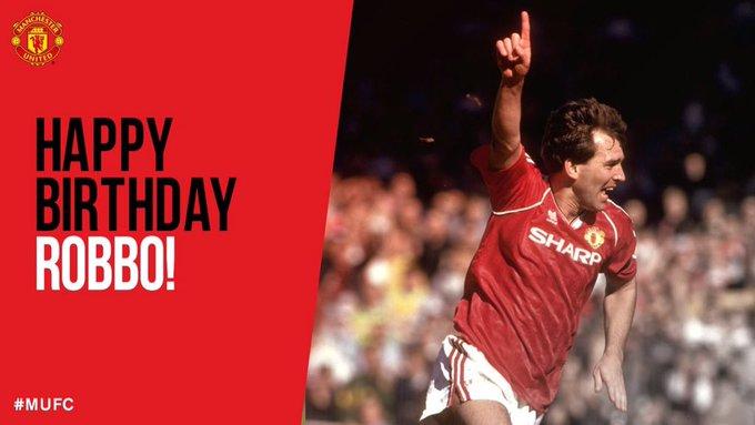Happy Birthday Bryan Robson!!!