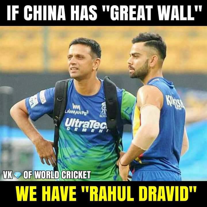 Happy Birthday Rahul Dravid :)  The Wall :)