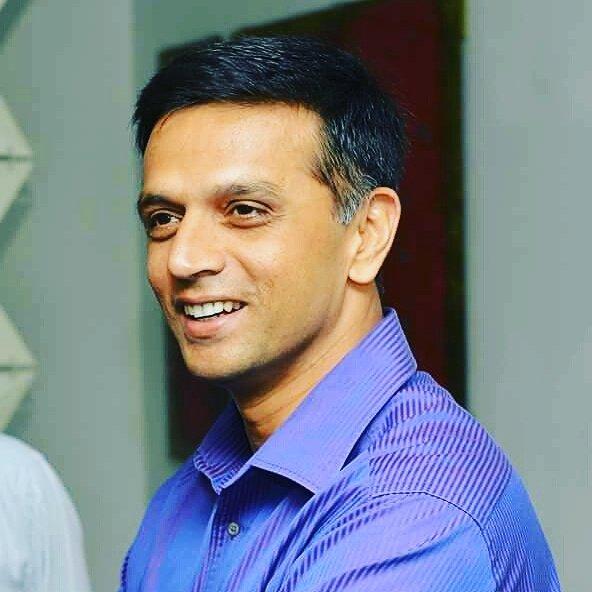 RAHUL DRAVID SIR happy birthday... wall of Indian cricket team... love u sir