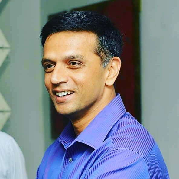 RAHUL DRAVID SIR happy birthday... wall of Indian cricket team... love u sir