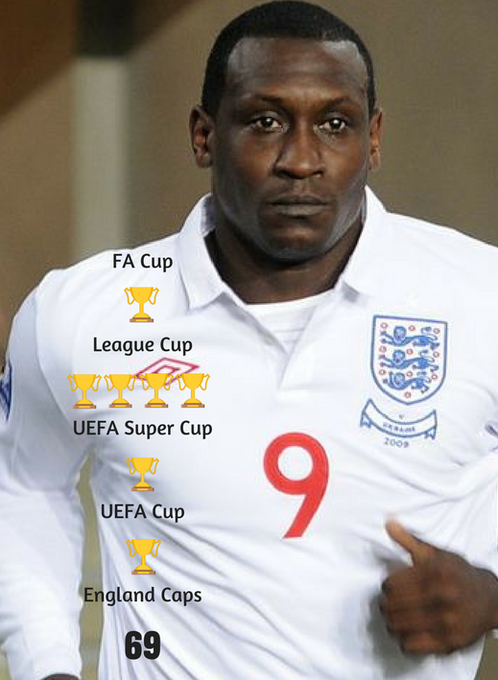 Happy Birthday to former & striker Emile Heskey. He\s won more than you think