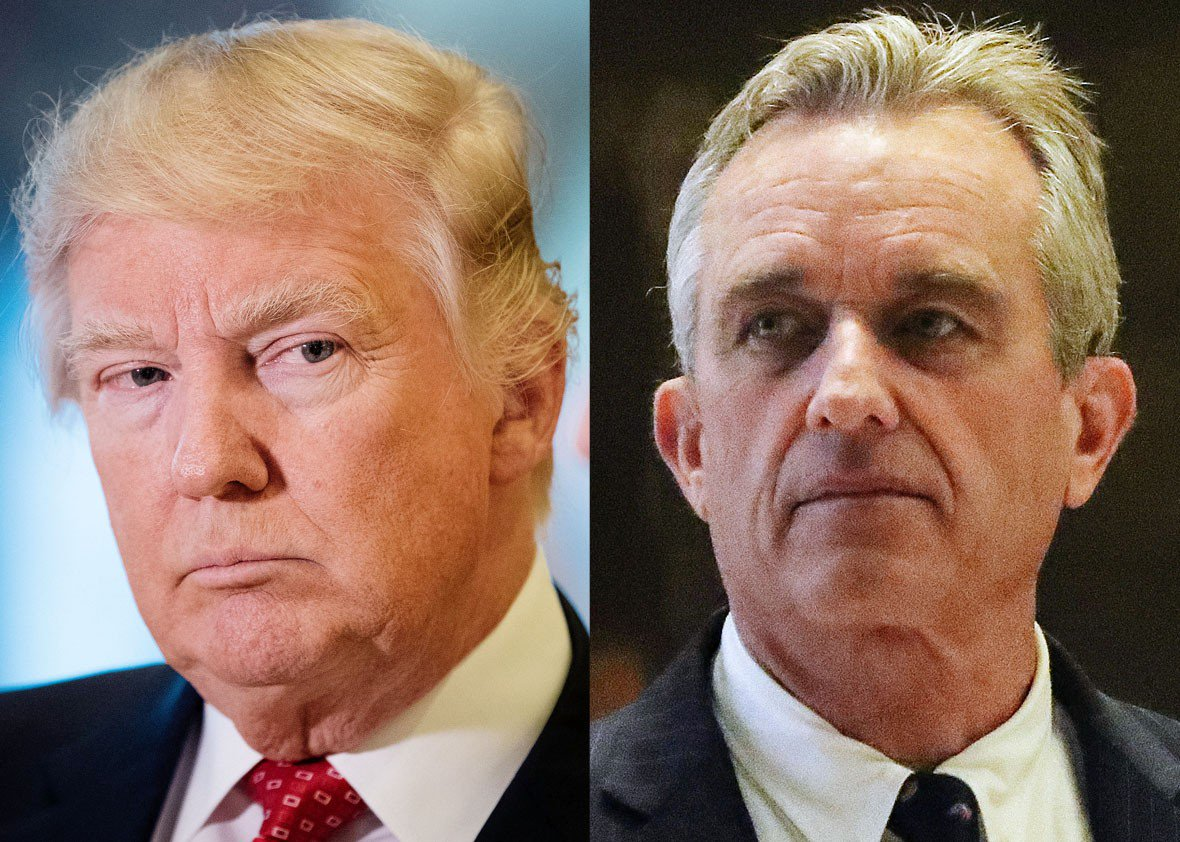 Donald Trump and RFK Jr. are vaccination-skeptical soulmates: https://t.co/vpIbNQQpjl https://t.co/vQYxJ5UCOX