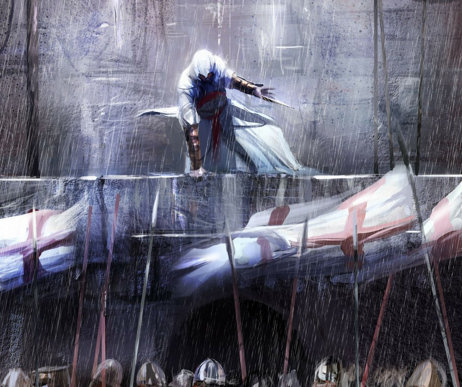Nothing is true and everything is permitted. | Happy birthday to our Mentor, Altaïr Ibn-La'Ahad! �� https://t.co/zGglCxKkf0