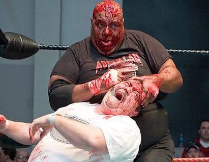 Wrestling Happy Birthday   to  Abdullah the butcher