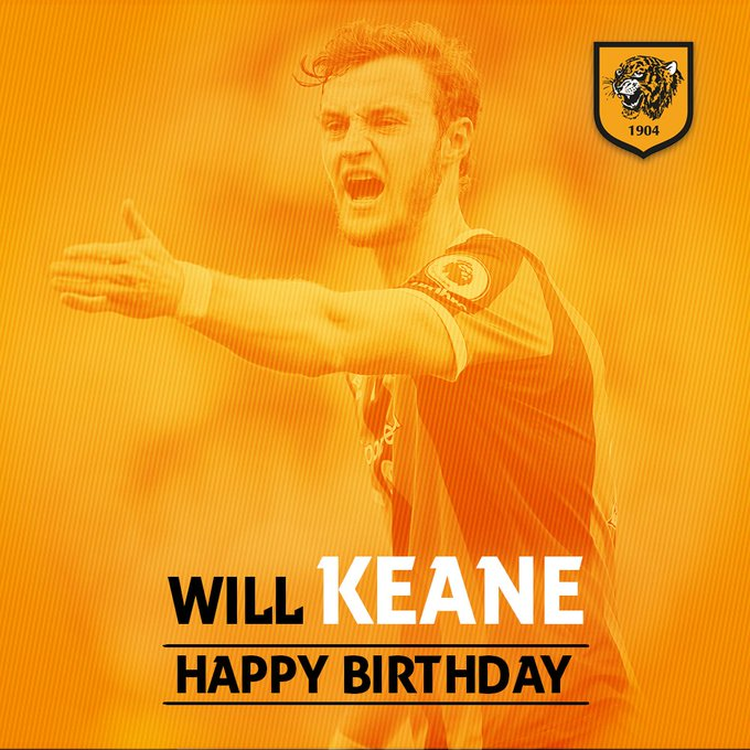 | Happy Birthday to Will Keane, who turns 24 today! Have a great day, Will!