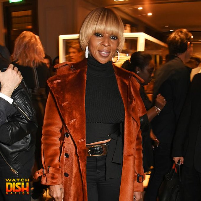 Happy 46th birthday to Mary J. Blige