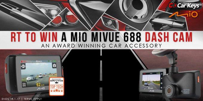 Win a HD Dash Cam