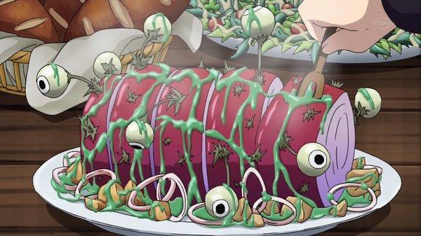 聖戦ケルベロスの料理!!!!!!!!!!!!!!!! #maidragon #tokyomx