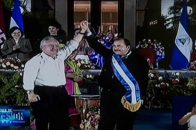 Daniel Ortega asume la presidencia tras la reelección en Nicaragua