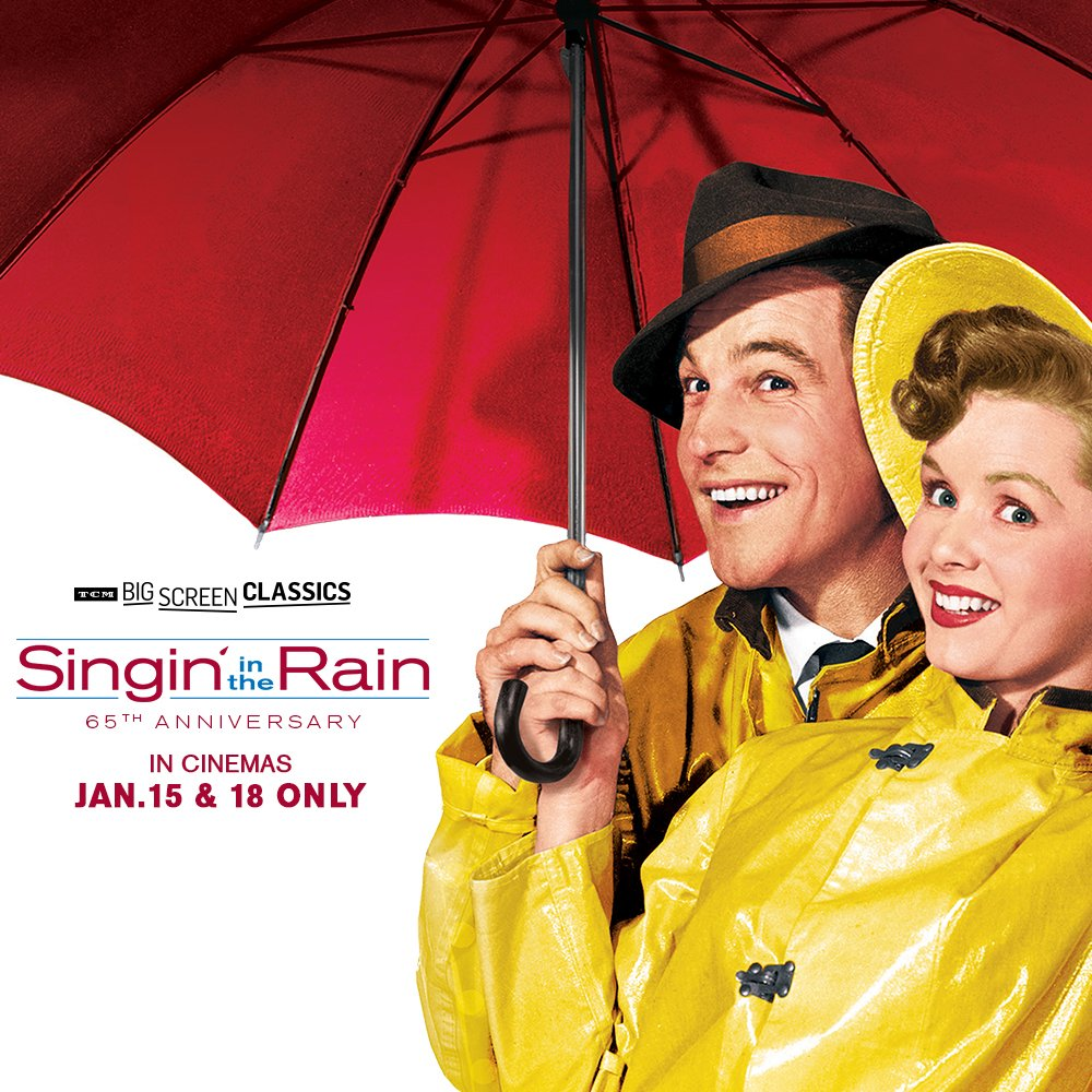 Get that that glorious feeling when #SinginInTheRain returns to the big screen on 1/15! Tix https://t.co/ahgp0Nlqyq https://t.co/iBDJn8tW3v