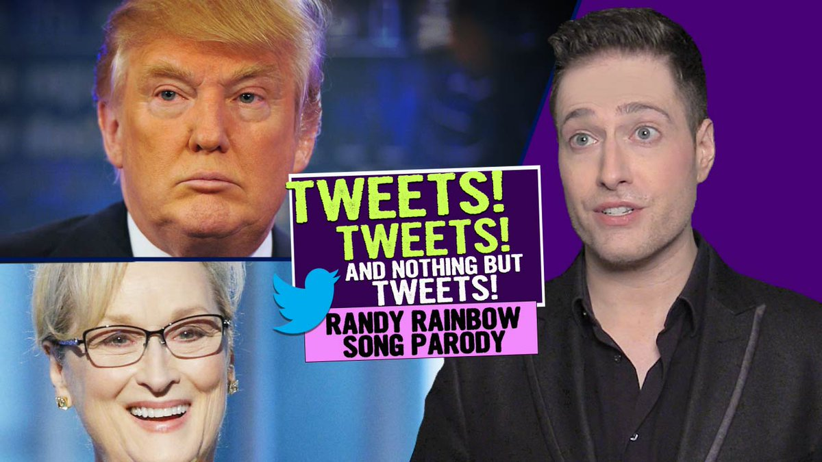 Very entertaining if you dislike Trump and love Sondheim RT @RandyRainbow: VIDEO #TweetsTweetsAndNothingButTweets https://t.co/4ngU5Gadz5