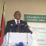 'Don't follow losers' - Ramaphosa to school kids