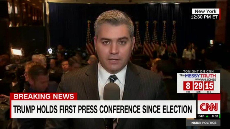 CNN's Jim @Acosta: Trump spokesman threatened to expel me https://t.co/IwRqPUI1BJ https://t.co/hrgwAfefSP