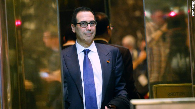 Here's what Steve Mnuchin has to sell to be treasury secretary https://t.co/kKV9u7OkOZ https://t.co/fqToMCpjLX