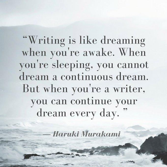 Wishing Haruki Murakami a happy birthday!