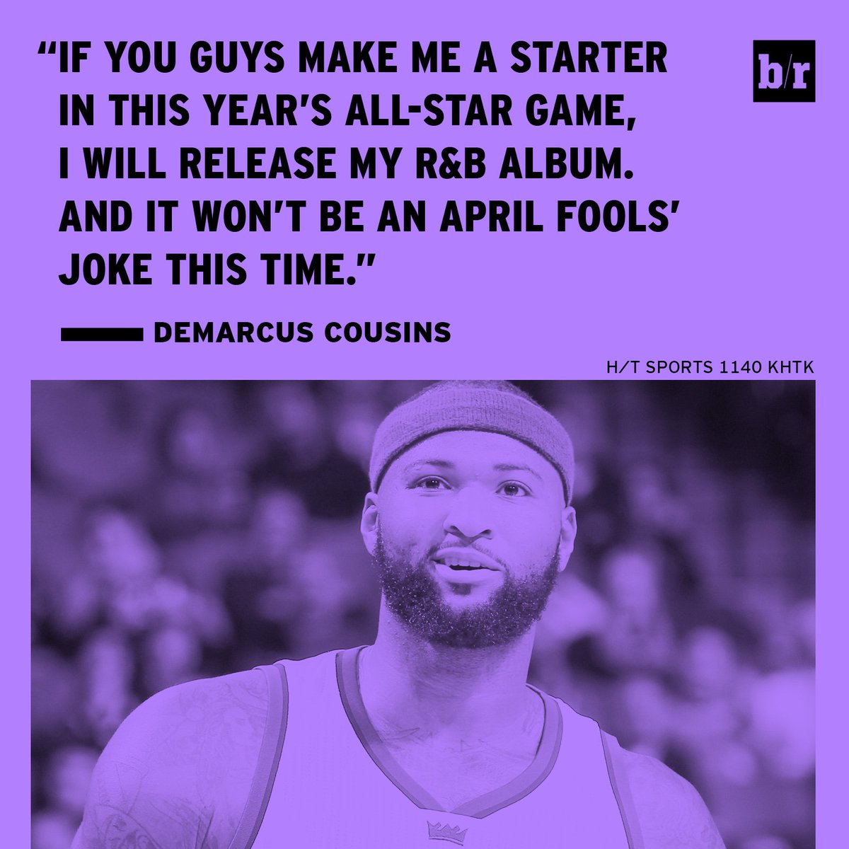 .@boogiecousins about to drop the most fire project of 2017 😂
