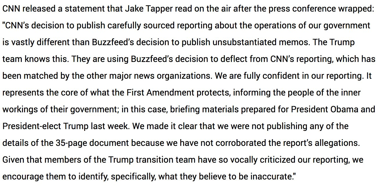CNN's full statement following Trump's press conference https://t.co/EdR57bB3UE https://t.co/RudKBXTzLv